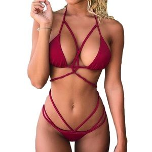 *Brand New* BRAIDED BRAZILIAN BIKINI SWIMSUIT